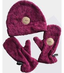 czapka + rękawice