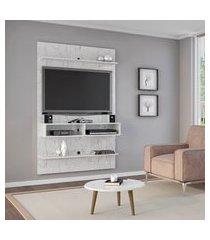 painel para tv até 47 pol móveis bechara vega 2 nichos
