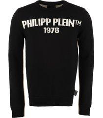 philipp plein intarsia wool pullover