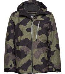m descendit jkt outerwear sport jackets groen the north face