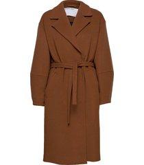 cyrus belt coat morgonrock brun designers, remix