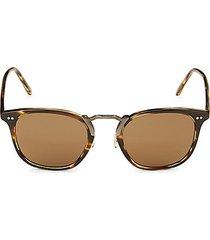 roone 49mm square sunglasses