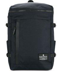 makavelic rectangle backpack - blue