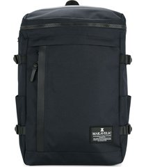makavelic rectangle backpack - blue