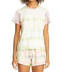 women's john elliott reconstructed tie dye crop t-shirt