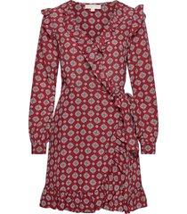 lux pindot wrap drs dresses wrap dresses rood michael kors
