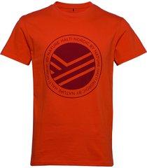 retki men's t-shirt t-shirts short-sleeved röd halti