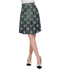 death star - star wars galaxy pattern a-line skirt