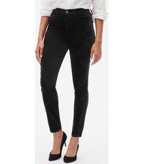 jeans legging velvet mujer negro gap