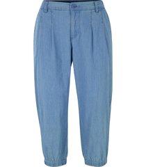 pantaloni capri in denim leggero (blu) - bpc selection