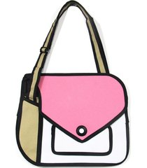morral sobre dotombori rosa-blanco fight for your right
