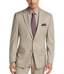 lauren by ralph lauren tan classic fit suit