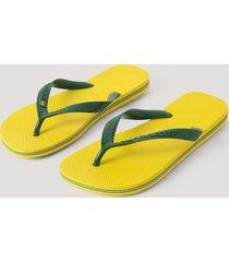 havaianas havaianas brazil flip flop - yellow
