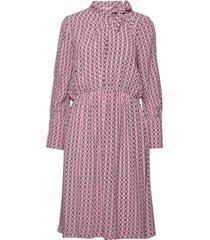 day tiles jurk knielengte roze day birger et mikkelsen