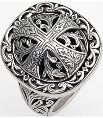women's konstantino 'classics' cross dome ring