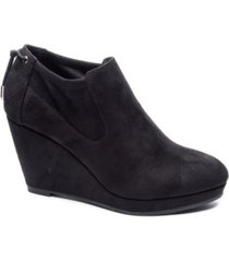 cl by chinese laundry women's varina wedge ankle booties women's shoes