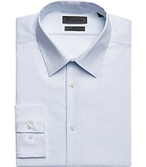 calvin klein infinite blue topaz slim fit dress shirt