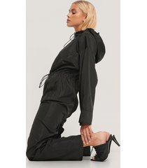 na-kd trend jumpsuit - black