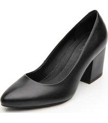 zapato mujer lally negro flexi