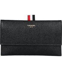 thom browne wallet with flap