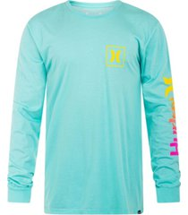 men's everyday wash one and only icon gradient long sleeve t-shirt