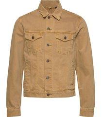 icon denim jacket jeansjacka denimjacka beige gap