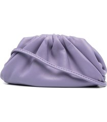bottega veneta mini the pouch clutch - purple