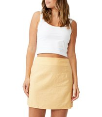 women's ultimate a line mini skirt