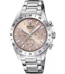 reloj boyfriend collection plateado festina