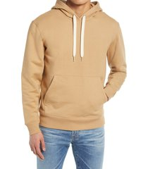 men's outerknown men's second spin hoodie, size large - beige