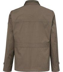waterafstotende jas met aansluitende pasvorm van strellson beige