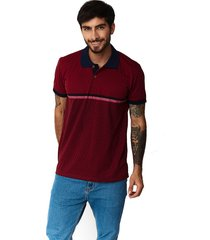 camisetas tipo polo-puntazul-vinotinto-41443