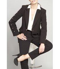 blazer mujer ibiza negro elemental liola