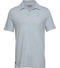 delon jersey shirt polos short-sleeved blå morris
