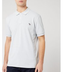 ps paul smith men's regular fit polo shirt - sky - xxl