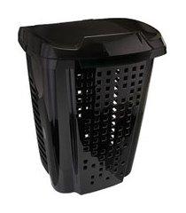 cesto para roupas astra rb5 telado 70 litros preto