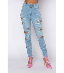 akira opposite direction high waisted distressed skinny jeans
