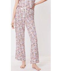 loft floral pajama pants