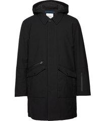 coats woven parka jas zwart edc by esprit