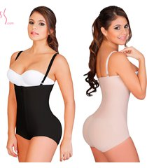 fajas colombianas salome 0414 women's body shaper strapless levanta cola