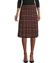 m missoni women's knit chevron skirt - black - size 40 (4)