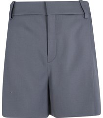 chloé concealed fastening shorts