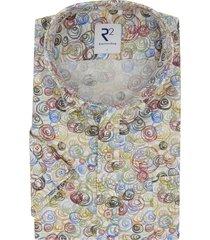 korte mouwen overhemd r2 amsterdam print