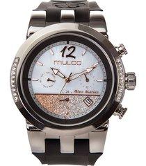 reloj mulco para mujer - blue marine infinity  mw-5-4721-023