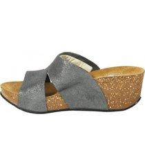 sandalia brillo cortes asfalto mailea