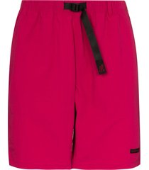 gramicci shell packable bermuda shorts - pink