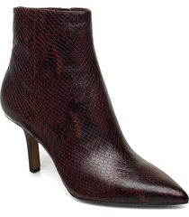 katerina bootie shoes boots ankle boots ankle boots with heel brun michael kors shoes