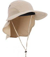 gorra con velo dallas beige izas outdoor
