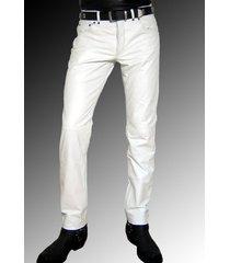 men leather jeans white leather pants white trousers men, men dress pant