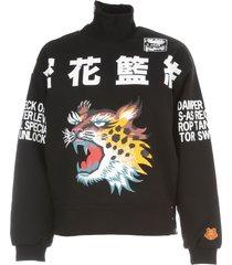 kenzo high neck sweatshirt